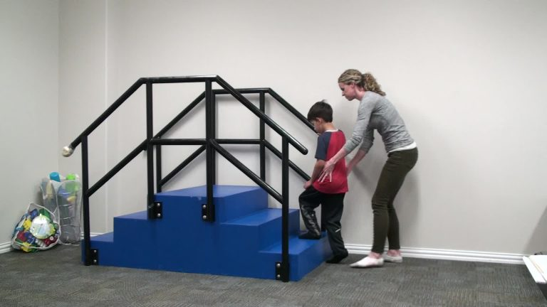 Pediatric child stairs