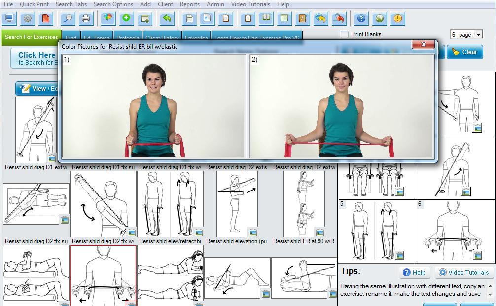 Exercise Pro desktop