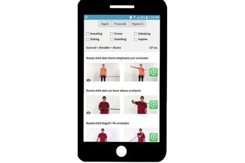 physical therapy app