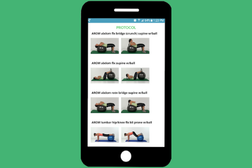 PT phone app