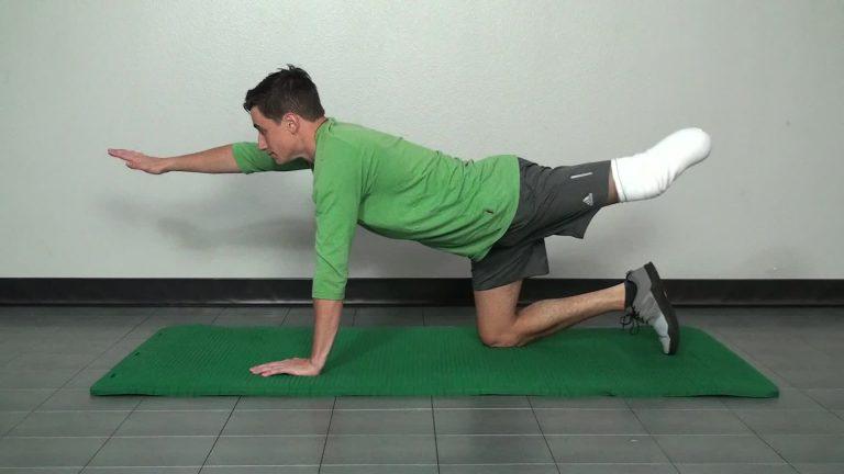 Below knee amputee exercise