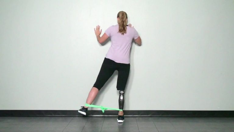 Above knee amputee exercise