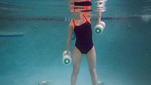aqua press downs exercise