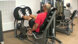 leg press on machine